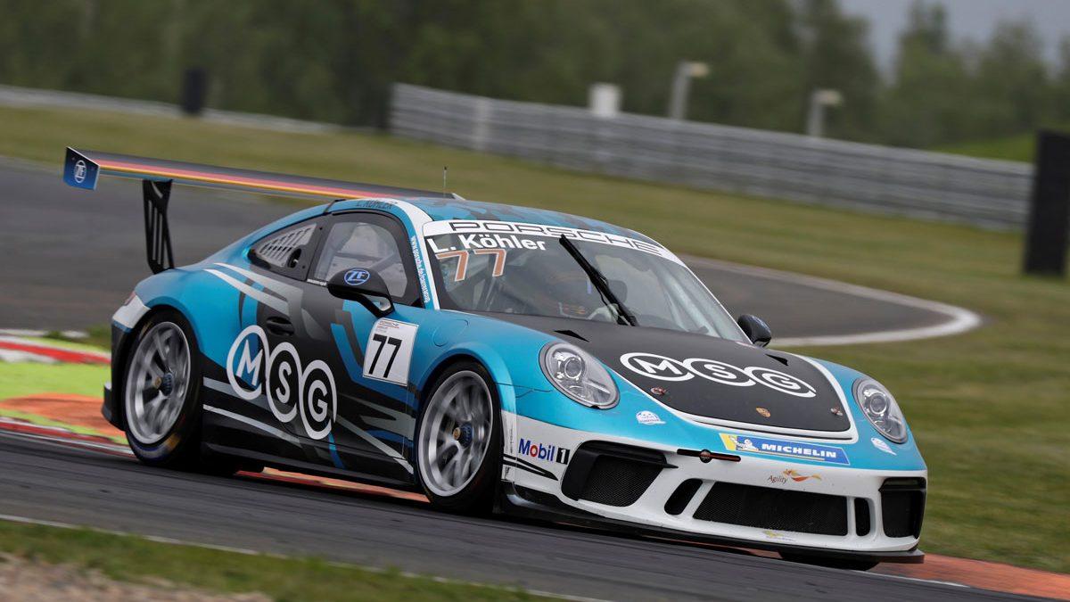Porsche auf der Rennstrecke von L. Köhler