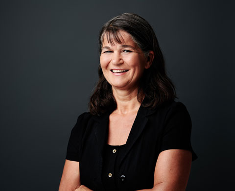 Andrea Taucher, responsible for personnel/accounting