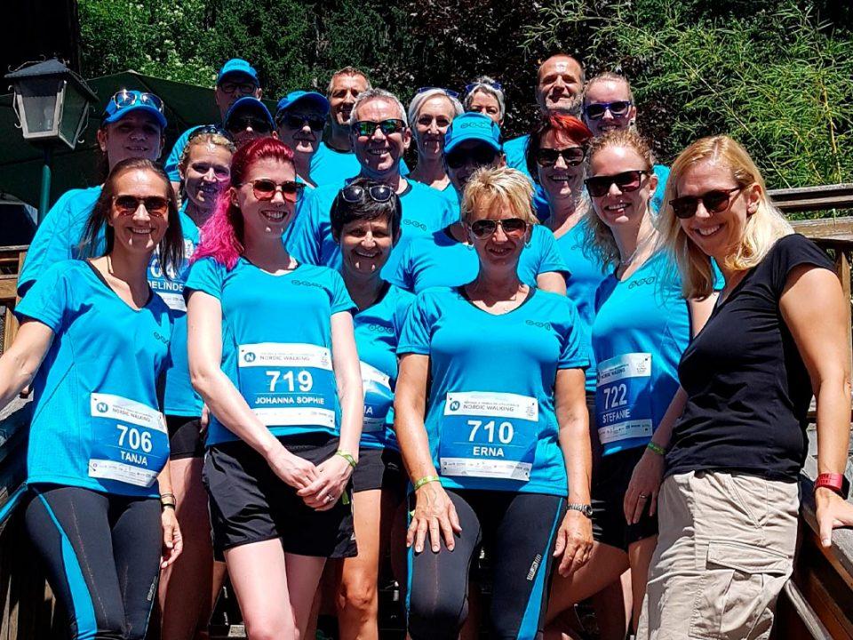 Das MSG Team beim Koralpenlauf